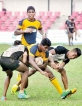 Army units go high  in rugby 'B' ties