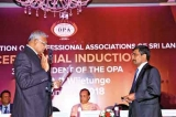 Lalith Wijetunge inducted as 37th President of OPA