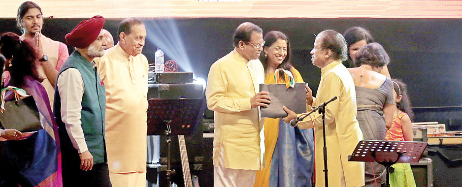 Virtuoso performance to mark India and Sri Lanka @70