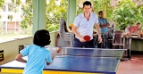 International Tennis star Tim Henman visits Foundation of Goodness