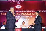 IPM Past President Lalith Wijetunge  inducted as President, OPA