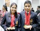 Ruwini and Suranga come 'bullseye' with perfect scores