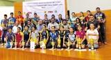 Dinesh and Hansani outstanding TT players