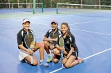 Professional Tennis Courts opened at Pegasus Reef Hotel