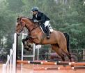 Rashmin rides high  at Pondicherry Equestrian Challenge