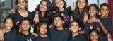 Singing for Lankan kids