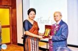 Vaccine Forum honours Dr. Jayasuriya