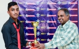 Malith Senanayake, a promising Tennis player
