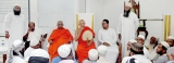 Important gestures by monks bring spirit of healing to Friday prayers