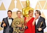 Oscars draw smallest-ever U.S. television audience