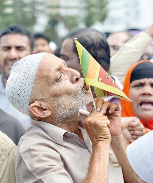 Image result for sri lanka muslim kiss flag
