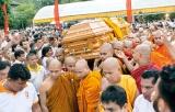 Cremation of the Sambodhi Viharaya Chief Incumbent