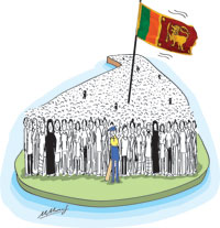 5th column cartoon1 in sri lankan news