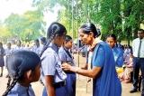 Katana Vidyalokha MV Scouts investiture ceremony