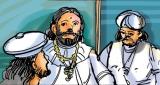 King Rajasinghe harbours a suspicion