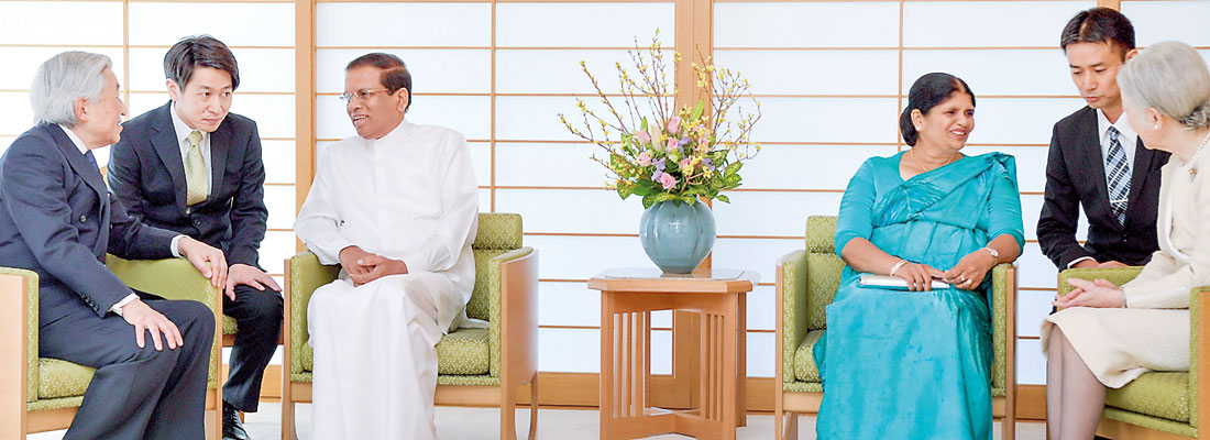 President Maithripala Sirisena official visit to Japan
