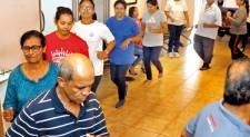 A heart-felt dance, march and walk
