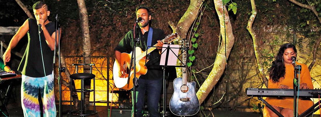 CFW on a musical note at Sooriya Village