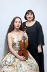 Await two famous concertos on violin and piano by mother daughter duo