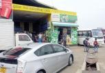 The dirty stinky Dambulla bus halt