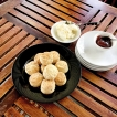 Snack on scones & strawberry jam as you take a good rest in the hills