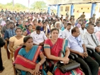 Army finalising early release of lands to the public, says Army Chief in Jaffna