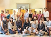 Japanese embassy staff's spouses support educational causes