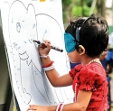 Asian International Montessori School Auvrudhu celebrations