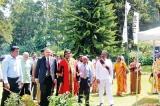 Nuwara Eliya bedecked  in flowers once again