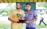 Sachin de Silva Overall Winner of RCGC Monthly Medal