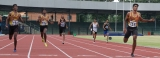 Lankan trio in stunning clean sweep of men's 400m sprint