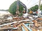 Illegal tourist restaurants dismantled