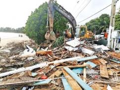 Illegal tourist restaurants dismantled