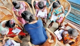 Uni students taking the joy of education to a small community