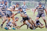 St. Peter's slip the ball  at the pearly gate