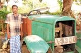 Sri Lanka's oldest Italian Fiat car in Jaffna