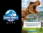 Dinosaurs come  back to life with Jurassic World Alive