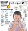 It's the flu, it's not a new virus so don't panic