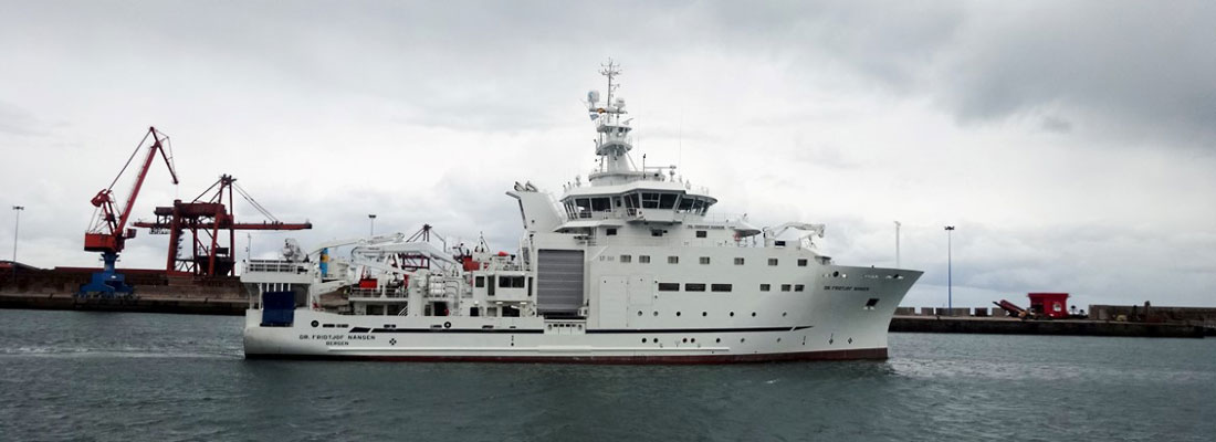 Norwegian researchers sail in to probe fishing stocks