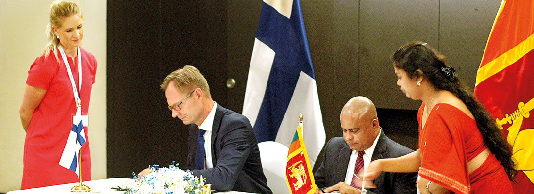 SL-Finland sign MoU to upgrade Vocational Education