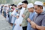 Eid-ul-Fitr festival prayers in Colombo