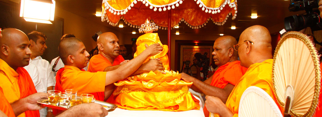Britisher who unearthed Buddha's relics at Sarnath