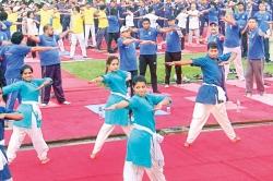 Indo-Lanka Yoga diplomacy
