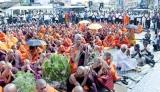 'Cheevara Saranang Gatchchami' BBS boss in jailbird's 'jumperey'