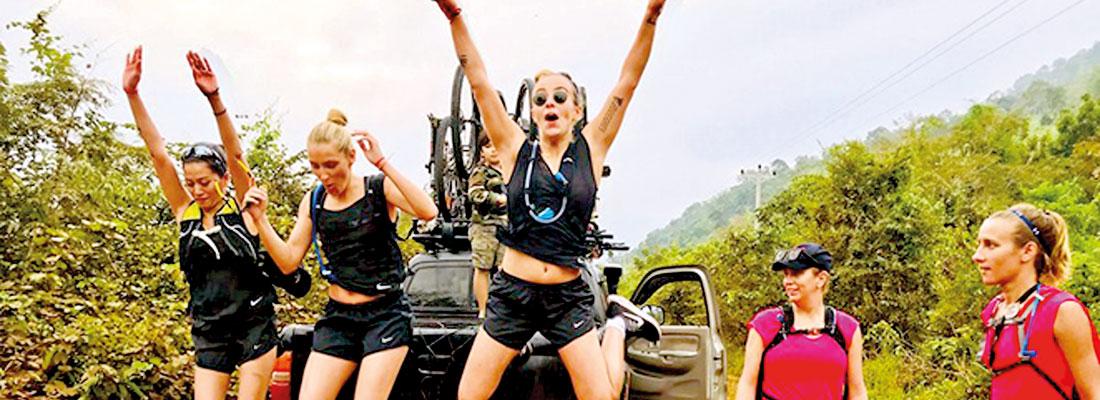 'Raid Amazones' comes to Passikudah and jungles of Thoppigala