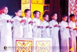 Bakthi Gee by Schoolchildren on Poson Poya