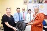 Rotary Club of Colombo Mid Town donates life-saving equipment to NHSL
