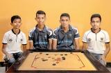 SLAF (Men), Samudradevi BV (Women) Doubles Winners