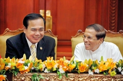 Hearty hi for Thai PM