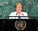Former Chilean President Michelle Bachelet next UNHRC Head
